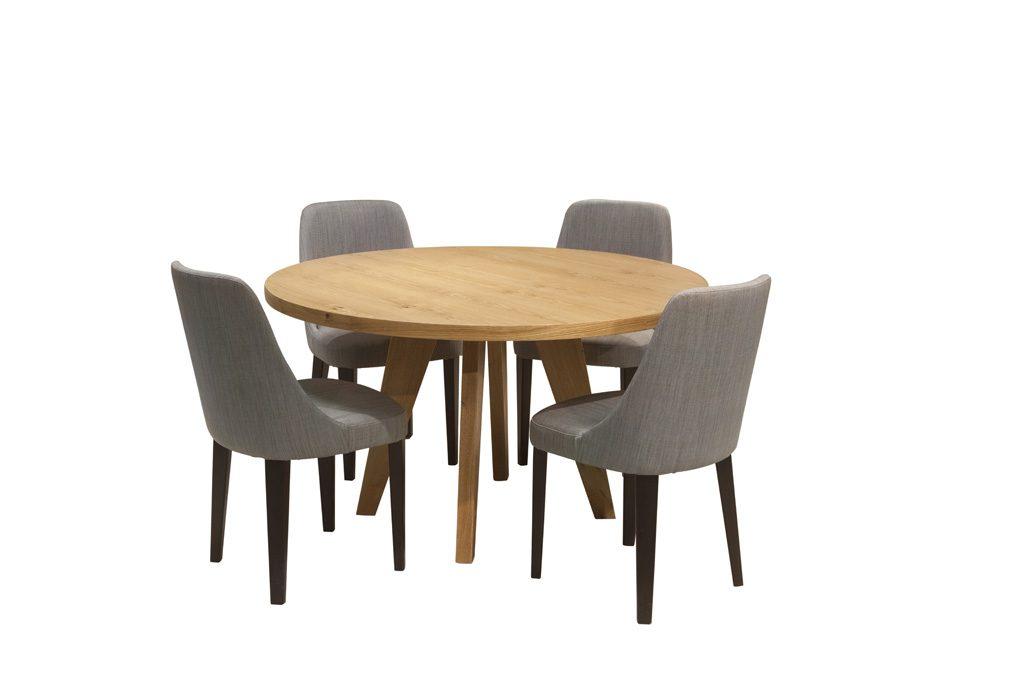 שולחן פינת אוכל עגול פיזה
