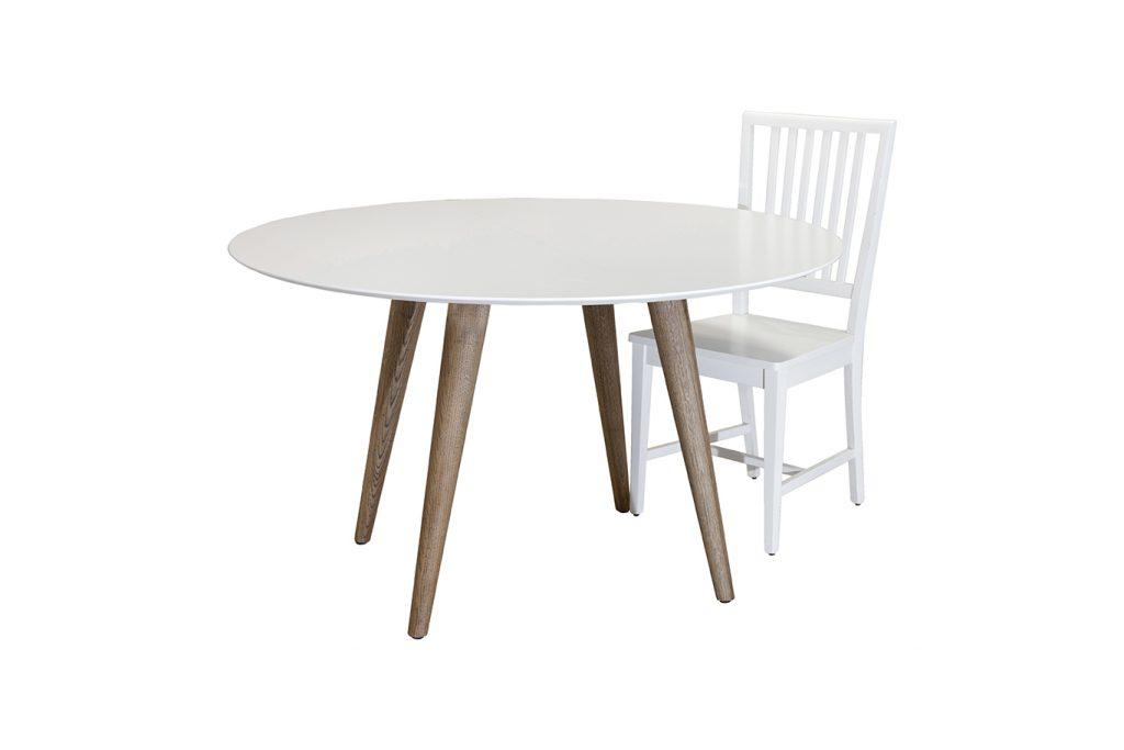 שולחן עגול רטרו