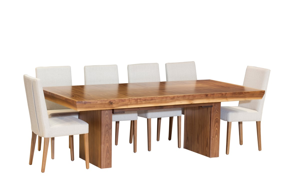 שולחן קואדרו מלבני – שולחן אוכל נפתח
