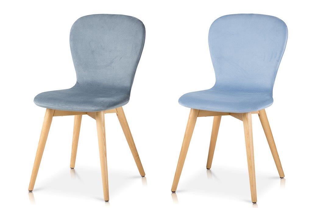 כסא לולה גב ריפוד