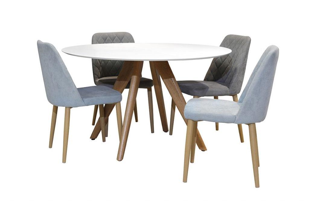 שולחן שביט עגול